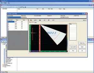 GageView Pro软件的屏幕