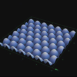 MEMS_Micro lens_3D