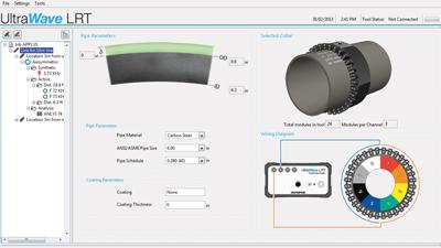 UltraWave LRT Software setup
