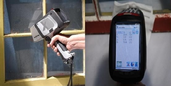 delta lead paint handheld xrf analyzer