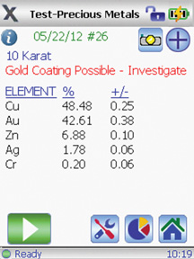 Gold Plating Screenshot