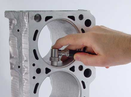 Wall Thickness Measurement of Cast Engine Blocks and