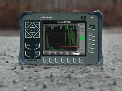 Portable EPOCH 600 in the rain