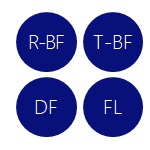 R-BF T-BF DF FL