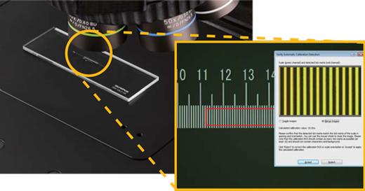 より正確な測定をサポート:自動キャリブレーション