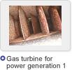 Gas turbine for  power generation 1