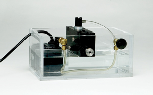 B103 V-notch bubbler with the RBS-1-15 recirculating bubbler system
