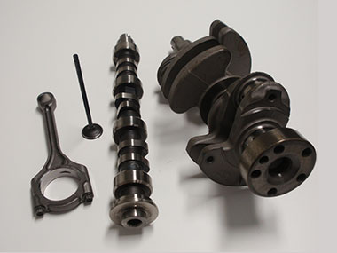 Various forged products used in vehicles