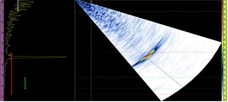 Surface Breaking Crack in Radius of Wheel Hub