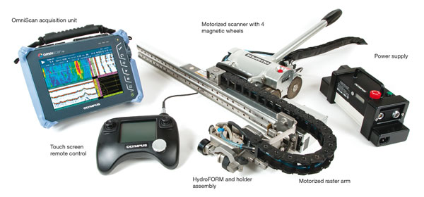 MapROVER: Motorized Two-Axis Scanner