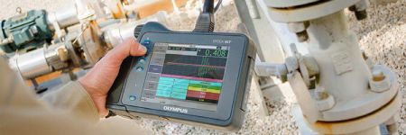 corrosion inspection with a conventional ultrasound (UT) flaw detector