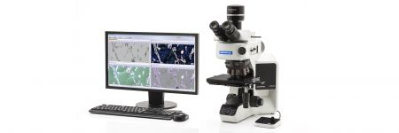 Olympus microscope and analysis software
