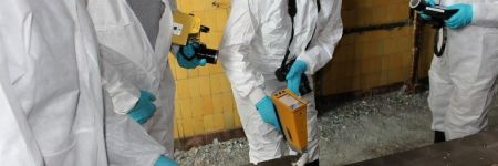 Handheld XRF analysis of radioactive contamination at Chernobyl