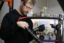 Ruckus Composites Inspects Thousands of Bikes with One Ultrasonic Thickness Gage