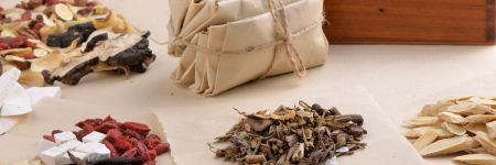 Various herbs and plants used in traditional Chinese medicine