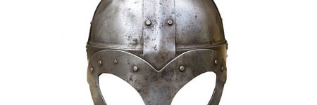 Ancient steel helmet
